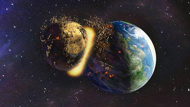 4,5 milyar yıl önce meydana geldiği tahmin ediliyor
