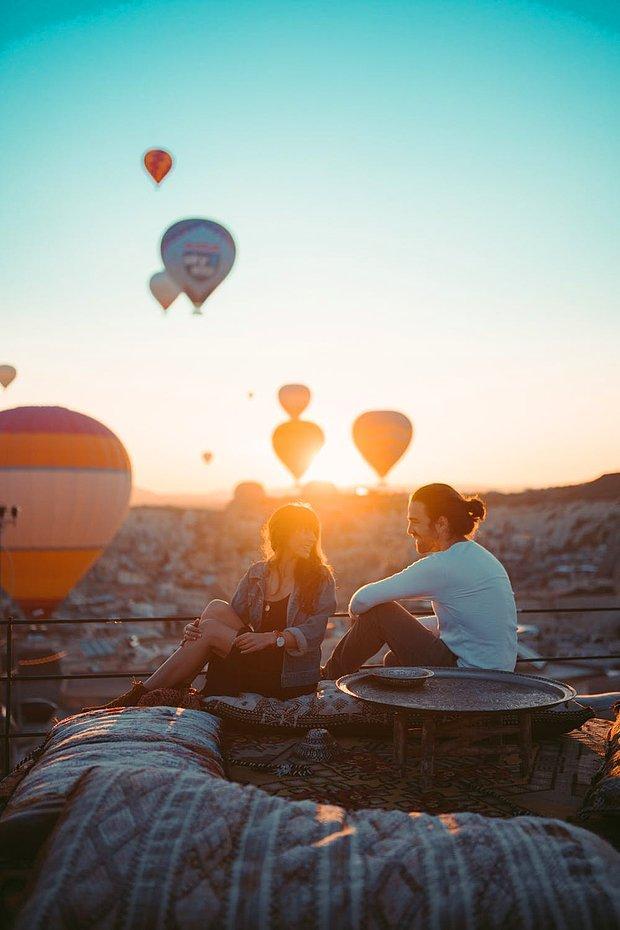 Romantik bir tatil: Kapadokya!