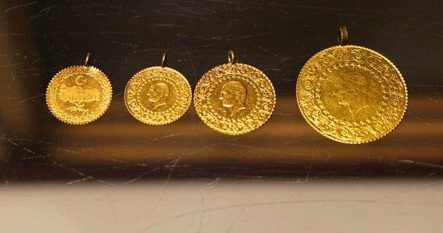 Gram Altın, Çeyrek Altın, Yarım Altın ve Cumhuriyet Altını Fiyatları…