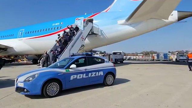 Marc Feren Claude Biart, bugün ülkesine iade edilerek, güvenlik güçleri eşliğinde Milano'ya getirildi.