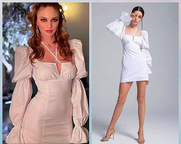 8. Geçen hafta Cansu'nun giydiği beyaz elbiseyi de hala aklımızdan çıkaramadık.