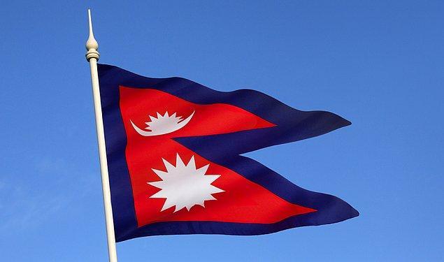 1. Nepal'in bayrağı, tüm bayraklar arasında dört kenarı olmayan tek bayrak.