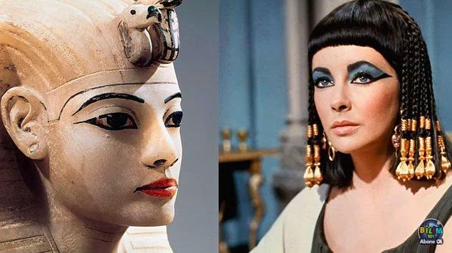 Antik Mısır'dan sonra makyaj saraya girdi ve özellikle 1500'lü yıllarda yüzlerini daha beyaz göstermek için donuk ve mat şekilde boyayan saraylılar oldukça belirgin allıklar kullandılar.