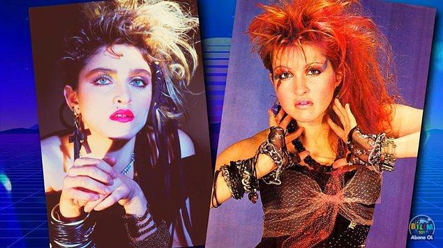 1980'ler disko müziği, farklılığı ve hedonizmi kutlayan Stüdyo 54 gibi yıldızlarla dolu kulüpleriyle kadınları makyajda farklı stiller aramaya yöneltti.