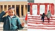 Babası Kardan Maketini Yapmıştı: Hakkarili Küçük Hira'nın Anıtkabir Hayali Gerçek Oldu