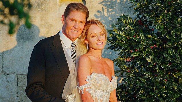 İlk başta, David Hasselhoff kendisinden 27 yaş küçük olduğu için Hayley Roberts ile evlenmek istemedi.