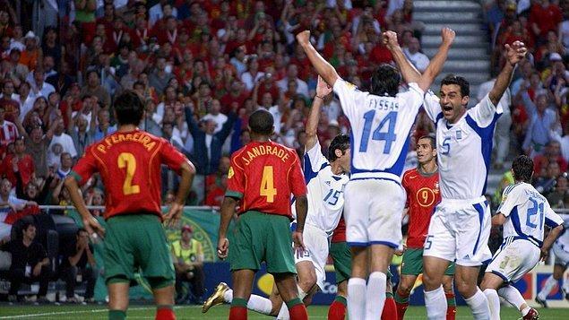 1. Yunanistan - 2004 Avrupa Şampiyonası