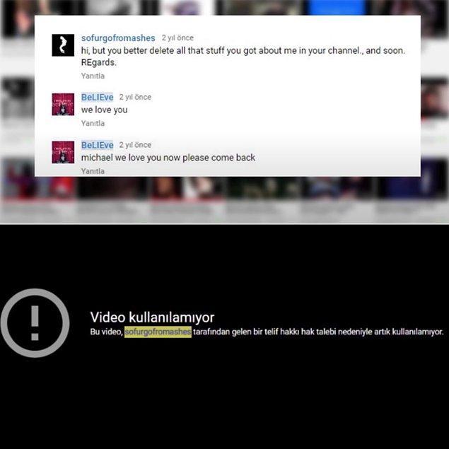 Sonrasında bu kanal, Michael Jackson'ın ölmediğine inanan ve buna dair analiz videoları yükleyen BeLiEve isimli kanalla iletişime geçti.