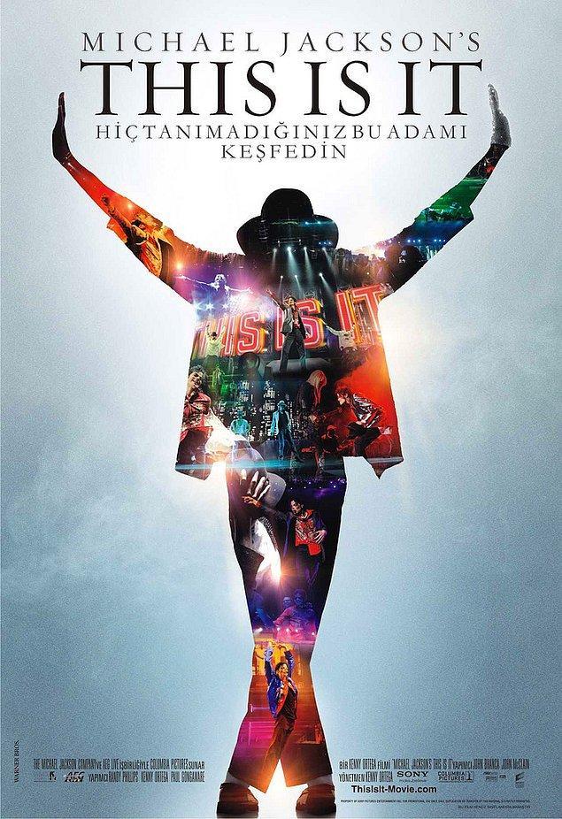 7. Michael Jackson ölmeden hemen önce çekilmeye başlanan This Is It belgeselini hatırlarsınız.