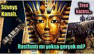 Süveyş Kanalı'nın Kapanması ve Ardı Arkası Kesilmeyen Felaketlerin Nedeni Firavunların Laneti Olabilir mi?