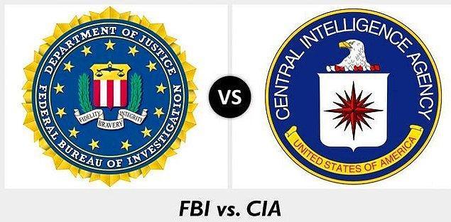 FBI ve CIA özellikle aksiyon filmlerinde sıklıkla karşımıza çıkar. Fakat bu iki kuruluşun neler yaptığını biliyor muyuz?