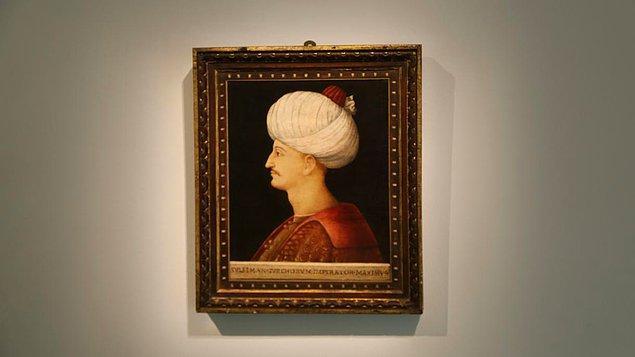 2. 2019 yılında yine Kanuni Sultan Süleyman'ın bu tablosu 👇 41 Milyon TL'ye satılmıştı.