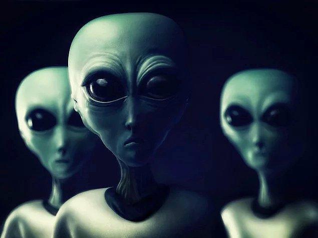 4. Tabii biz de bahsetmesek olmazdı: Uzaylılar!