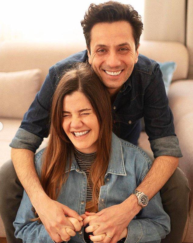 11. Derya Baykal ve Ferhan Şensoy'un kızı Müjgan Ferhan Şensoy sosyal medya hesabından bebek beklediklerini paylaştı!