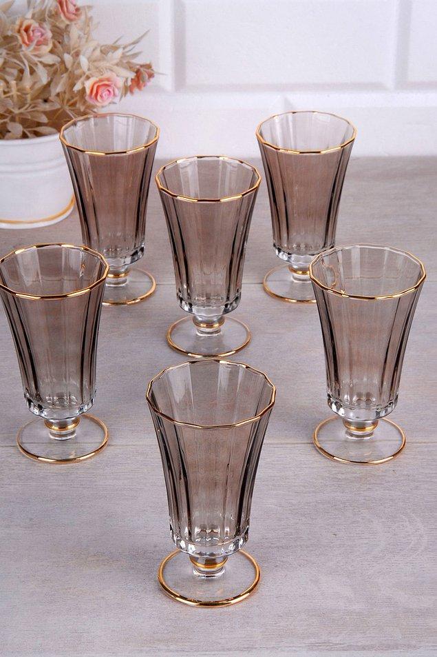 10. Türk kahvesi sunumunuz için bu minik su bardaklarını kullanabilirsiniz.