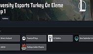 University Esports Turkey Grup Elemeleri Belli Oldu