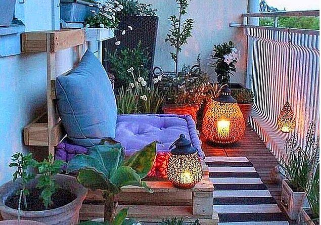 1. Hazır yaz geliyorken balkonunu dekore etmenin tam zamanı.