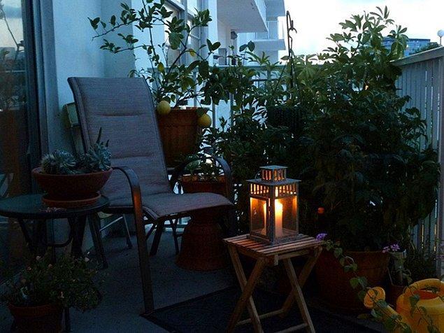 12. Romantik bir akşamüstü, ılık bir gece...