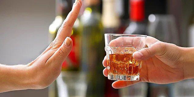 5. Aşırı alkolden uzak durmak