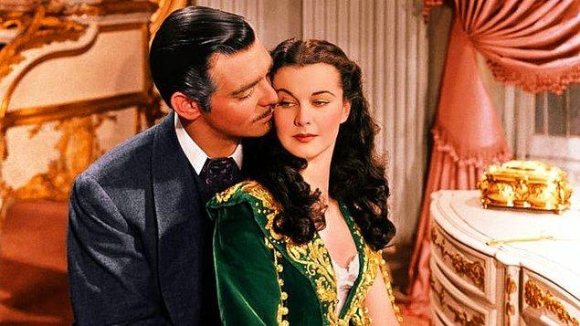 28. Rüzgar Gibi Geçti / Gone with the Wind (1939)