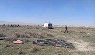 Konya'da Türk Yıldızları'na Ait Gösteri Uçağı Düştü