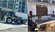 Çin Büyükelçiliği Mansur Yavaş'ı Hedef Alırsa... ASKİ Ekipleri Elçilik Önünde Kazı Çalışması Başlattı