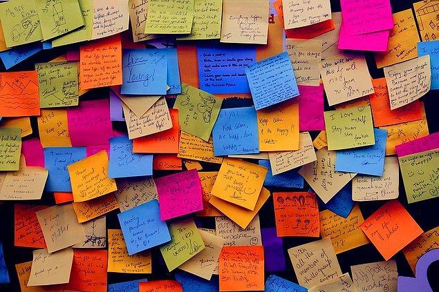 11. Post-it kullanmadan yapamayanlardansanız, sizin için en iyi planlayıcı seçeneği olabilir.