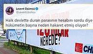 '128 Milyar Dolar Nerede?' Afişlerine 'Cumhurbaşkanına Hakaret' Soruşturması Açılması Tepkilerin Odağında