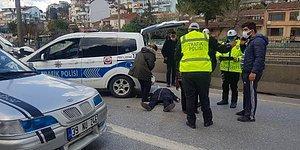 Kısıtlamayı İhlal Edip, Bir Araçta 7 Kişi Yakalandılar: Ceza Kesilince Baygınlık Geçirdi