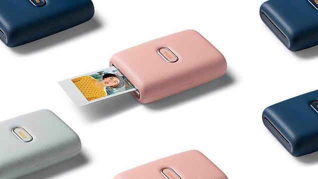 3. Fujifilm Instax Mini akıllı telefon yazıcısı