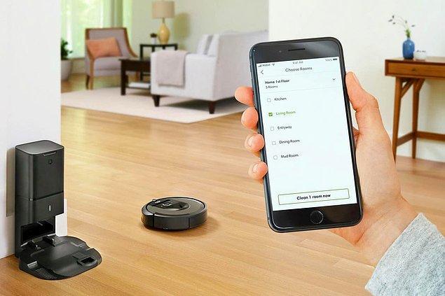 12. iRobot Roomba i7+ robot süpürge
