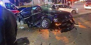 Ya Sokağa Çıkma Yasağı Olmasaydı: Elazığ'da Kısıtlama Saatinde Zincirleme Kaza