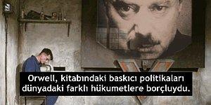 """George Orwell ve Ürkütücü Distopyası """"1984"""" Hakkında Muhtemelen Bilmediğiniz 15 Bilgi"""