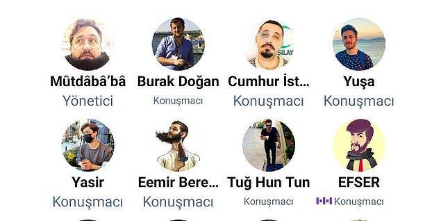 AKP'liler kendi odalarında muhalifsiz sakin sakin kendi dertlerini konuşurken