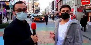 Sokak Röportajında Enerjisi ile Binlerce İnsanın Gönlünü Fetheden Genç: 'Senin Gözlerin Ne Kadar Güzelmiş'