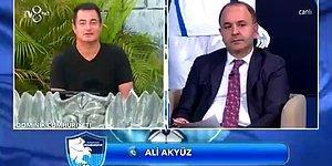 Acun Ilıcalı'nın Düzenlediği Erzurumspor'a Yardım Gecesinde İlginç Olay: 'Ben Aç Karnımı Doyuramadım'