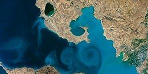 NASA'nın Yarışmasında Van Gölü Fotoğrafı Birinci Oldu!