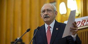 Kılıçdaroğlu'nun Dokunulmazlığının Kaldırılmasına İlişkin Fezleke Meclis'e Sunuldu