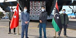 Türkiye'nin Yolladığı 150 Bin Doz Koronavirüs Aşısı Libya'ya Ulaştı