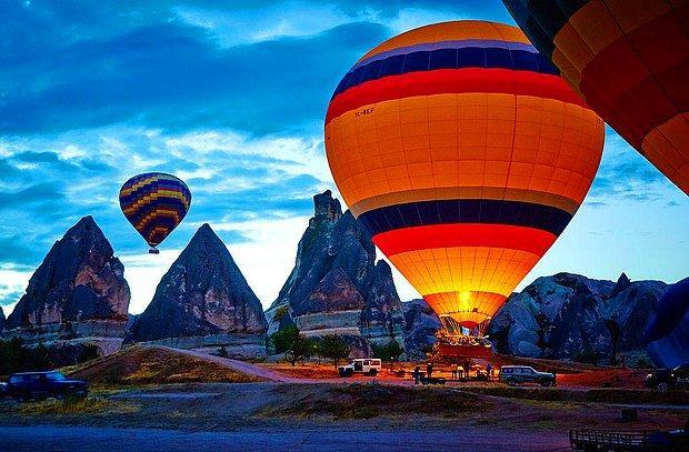 Baş başa bir balon seyahati