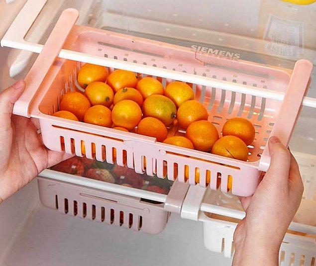 12. Bu buzdolabı sepetleri yemeniz gereken ürünleri göz önünde tutacak.