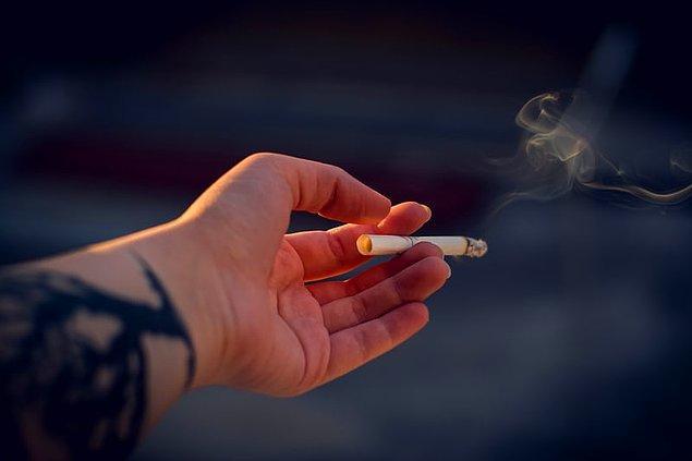 2. Sigara aşırmak.