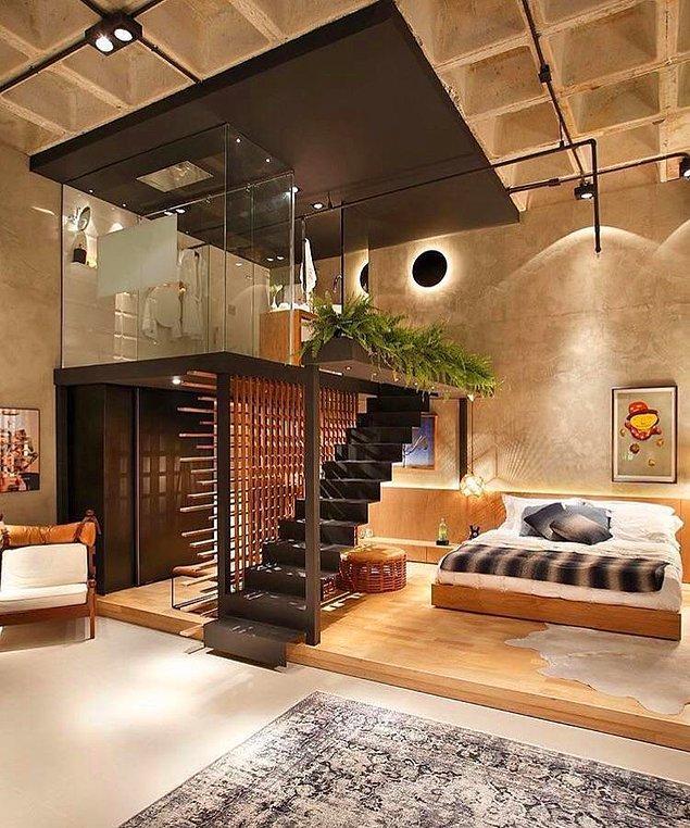 Bildiğiniz gibi son yıllarda endüstriyel tasarım revaçta. Birçok insan evlerini, kafeleri ve restoranları bu şekilde tasarlıyor.
