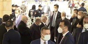 Cumhurbaşkanı Erdoğan Katıldığı Cenaze Töreninde Kılıçdaroğlu'na Selam Vermedi