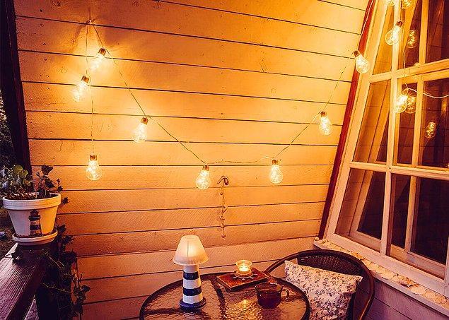 4. Bahar geldiğine göre balkon dekorasyonları başlasın.