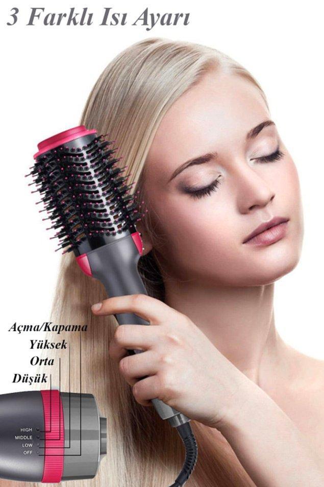 10. Bu uygun fiyatlı ürün sayesinde herkesin saçları, kuaförden çıkmış gibi bakımlı olacak.