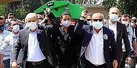 Fatih Terim, Adana Demirspor'un Efsane İsmi İlhan Demirdal'ın Tabutunu Taşıdığı Sırada Direk Elinde Kaldı