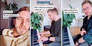 Tanışmadan, Duvarların Arkasında Birlikte Düet Yapan İki Piyanist Komşunun Sonunda Gözyaşlarına Boğan Hikayesi