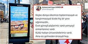 Danimarka'nın 'Ülkenize Dönün Güneşli Suriye'nin Size İhtiyacı Var' Yazan İnsanlık Dışı Afişine Gelen Tepkiler