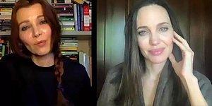 Elif Şafak, Angelina Jolie ile İstanbul Sözleşmesi'ni Konuştu: 'Korkunç Sonuçları Olacak'
